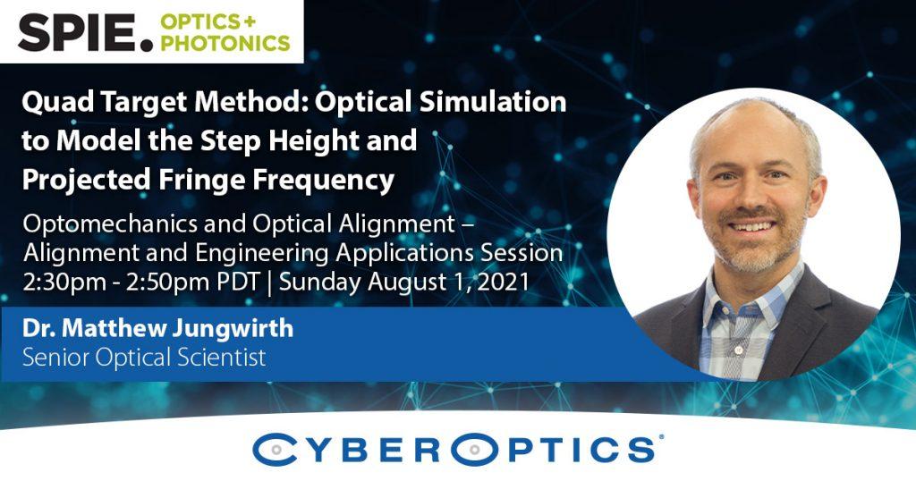 SPIE Optics+Photonics 2021