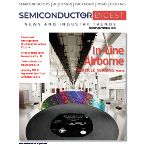 Semiconductor Digest Cover featuring CyberOptics